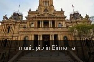 Municipio in Birmania